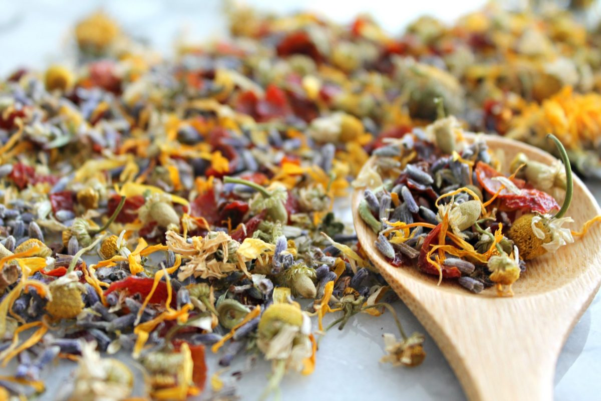 Creating Your Own Holiday Tea Blend